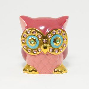 Betsey Johnson Owl Critter Bank
